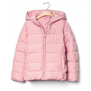 Gap Kids girls puffer jacket pink size XS 4-5 yrs